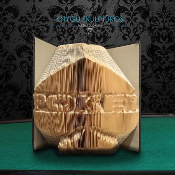 buchskulptur-poker